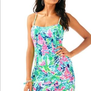 New Lilly Pulitzer Salt in Air Sundress Ladies 6